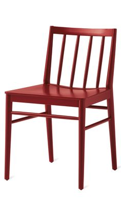 Chair in painted beech.