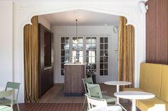 Gallery of Monumen(t)huis Office Renovation / Declerck-Daels, Architecten - 4 Semi Detached, Detached House, Dezeen, Relaxation Room, Building Companies, Ground Floor Plan, Oversized Mirror, Condominium, Cozy House