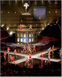 La Nouba Orlando by Michel Crête. Cirque du Soleil at Disney, the coolest show ever. We sprung for Gold Circle seats. This will be awesome! Disney Vacations, Disney Trips, Disney Parks, Walt Disney World, Pina Bausch, Ste Croix, Circus Performers, Star Wars, Downtown Disney