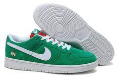 buy popular df8e0 f7fc2 Nike Dunk Low Boston Celtics Shoes - GreenWhite - Wholesale  Outlet  Discount Nike Dunk Low Shoes sale, original Nike Dunk Low Shoes new  arrivals, ...