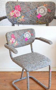 Chairs with an handmade touch