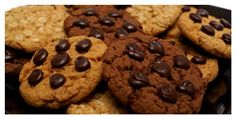 O Que Tem na Minhha  Panela: Cookies Integral
