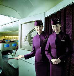Qatar Airways' Cabin Crew