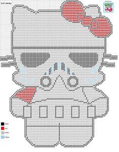 STORM TROOPER HELLO KITTY- REMAKE by LISA HEATHER (LilCherry Designs)