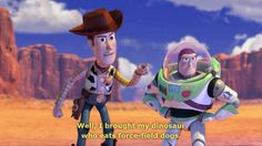 Screencap Gallery for Toy Story 3 Bluray, Pixar, Toy Story). As their owner Andy prepares to depart for college, his loyal toys find themselves in daycare where untamed tots Toy Story Funny, Toy Story 1995, Toy Story 3, Toy Story Party, Pixar Quotes, Disney Jokes, All Episodes, Disney Art, Short Film