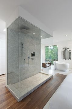 awesome shower. Totem House / borXu Design
