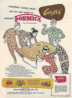 Vintage Formica Ad from Australia