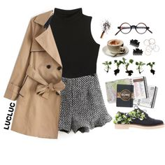 Coffee in Rome by ritaflagy on Polyvore featuring Anouki, Monki and Dorothy Perkins