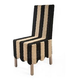 Striped Grange Side Chair by MacKenzie-Childs at Horchow.