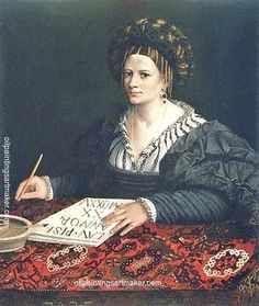 Dosso Dossi Laura Pisani, 1525, painting Authorized official website