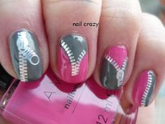 Nail crazy: Zip it!