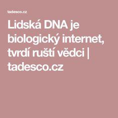 Lidská DNA je biologický internet, tvrdí ruští vědci | tadesco.cz