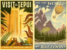 Trying to see where I can find some of these retro posters for the nursery (especially the plane one). No luck at all posters.com or Disney :(