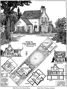 1017 best vintage house plans 1920s images vintage house plans 1920s Home Design elegant small homes of the twenties 99 designs from a petition by chicago tribune