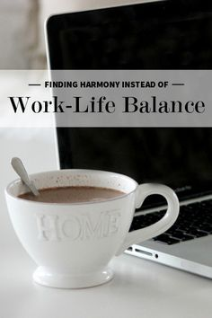 Finding Harmony Instead of Work-Life Balance | Levo League #balance