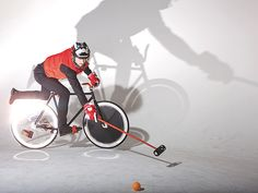 louis vuitton polo bike, mallet, and gear