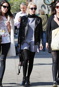 9 Style Secrets to Dressing Like a Celebrity via @WhoWhatWear--Secret #9: Layered separates add edge