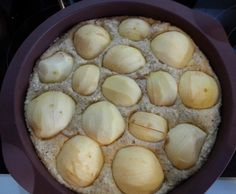 Saftiger Apfel Nuss Kuchen