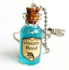 Unicorn Blood Necklace.