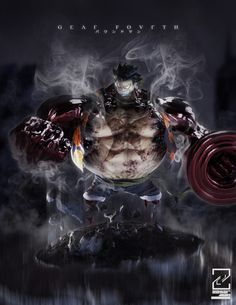 ArtStation - Luffy Gear Fourth, Zesar Garcia