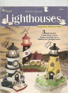 plastic canvas lighthouse...I thank God for the Lighthouse!