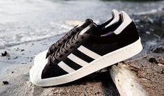 Adidas Superstar 80s Expedition Pack Primeknit Beiläufig Schuhe Schwarz