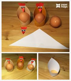 paper magic craft for kıds « Preschool and Homeschool Easter Projects, Easter Crafts, Paper Crafts For Kids, Preschool Crafts, Magic Crafts, Chicken Crafts, Paper Magic, Easter Activities, Easter Party