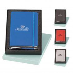 Marina Ballpoint Pen & Classico Vinyl Journal Set (PPO# Set includes aluminum Marina ballpoint pen and vinyl Classico non-refillable Carpe Diem, Ballpoint Pen, Marketing, Journal, Gift Sets, Event Ideas, Moleskine, Gifts, Training