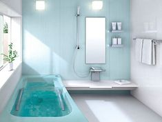 White and blue bathroom colors for small bathrooms