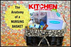 Being Frugal and Making It Work: The Anatomy of a Nursing Basket - Must Have Breastfeeding Supplies!
