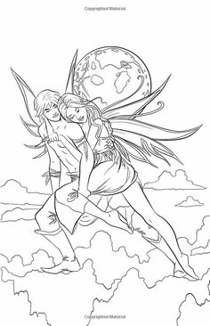 free coloring pages of mystical fairies mystical fairy pages for teens coloring pages fairies free pages mystical of coloring Coloring Pages For Grown Ups, Fairy Coloring Pages, Adult Coloring Book Pages, Coloring Pages To Print, Free Coloring Pages, Coloring Books, Fairy Art, Art Pages, Illustration