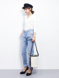 shop staff ayumi ;)│ADAM ET ROPE' Casquette Looks - WEAR