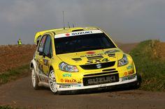 Suzuki SX4 WRC Rally Car - ADAC Rallye Deutschland