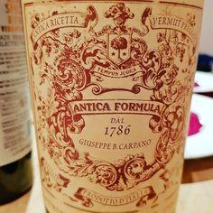 Antica Formula Vermut  #vermouth #dandywithlens DandyWithLens.com