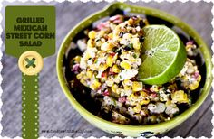 Traditional Elote- or Mexican street corn- gets a makeover in this super summer salad full of grill-roasted, slightly charred sweet corn, with a creamy Mexican inspired dressing of mayonnaise, ground chipotles, lime juice, and cilantro. Serve with grilled fish, chicken, pork or beef and you'll be the most popular summer cook in your neighborhood!
