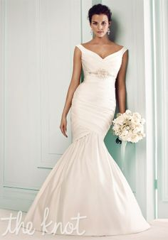 Check out this #weddingdress: 1660 by Mikaella via iPhone #TheKnotLB from #TheKnot