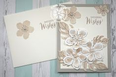 Clearly Southern Stampin': Botanical Blooms Wedding Card