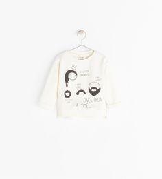 Image 1 of FAMILY PRINT SWEATSHIRT from Zara
