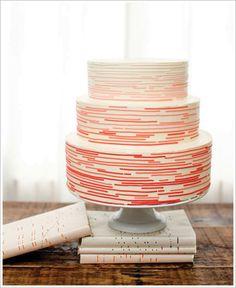 giant ombre cake (delicious gradient!)