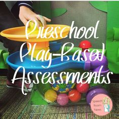 Every Wednesday, I'm part of a team that completes preschool assessments. Whenever I post about the assessments on social media I get questions about assessments, ideas, timing, etc. Today, I'm sta...