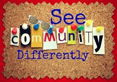Are you looking for a community to bless you or are you looking for a community to be a blessing to?