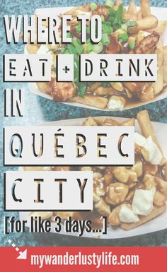 Best Spots to Eat + Drink in Québec City The best (my favorite) places to eat and drink in Québec City, Canada. This city has some of the best food (poutine!), beer, and atmosphere I've experienced anywhere. Quebec Montreal, Old Quebec, Quebec City, Ottawa, Quebec Winter Carnival, Best Places To Eat, Unique Recipes, Canada Travel, Foodie Travel