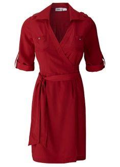 Wrap shirt dress - loving this