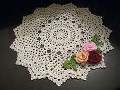 Baroque Inspiration - free archived doily pattern by Denise (Augostine) Owens / Denise's Crochet Paradise.  http://web.archive.org/web/20040412000024/http://denisecrochets.com/baroqueinspiration.html