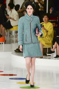Chanel resort collection, pre-spring/summer 2016 in Seoul, Korea.