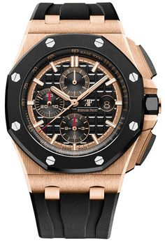 Discover a large selection of Audemars Piguet Royal Oak Offshore Chronograph watches on - the worldwide marketplace for luxury watches. Compare all Audemars Piguet Royal Oak Offshore Chronograph watches ✓ Buy safely & securely ✓ Audemars Piguet Gold, Audemars Piguet Diver, Audemars Piguet Watches, Stylish Watches, Luxury Watches For Men, Cool Watches, Men's Watches, Panerai Watches, Fine Watches