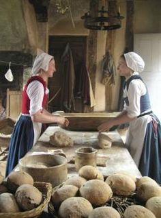 Tudor-style Easter at Kentwell. Have a look around the site to see how things were done in other eras.