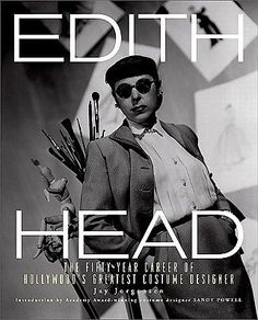 """Read """"Edith Head The Fifty-Year Career of Hollywood's Greatest Costume Designer"""" by Jay Jorgensen available from Rakuten Kobo. All About Eve. A Place in the Sun. The Ten Commandments. Scores of iconic. Hollywood Costume, Hollywood Fashion, Old Hollywood, Vintage Mode, Moda Vintage, Moda Peru, Sandy Powell, Best Costume Design, Edith Head"""