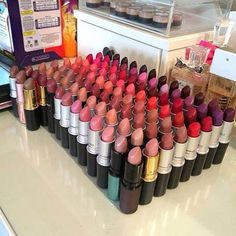 My mac lipstick collection bigger than yours!!