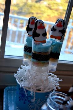 penguin push up pops  MY PARTY PASSION: Partay with the Penguins!